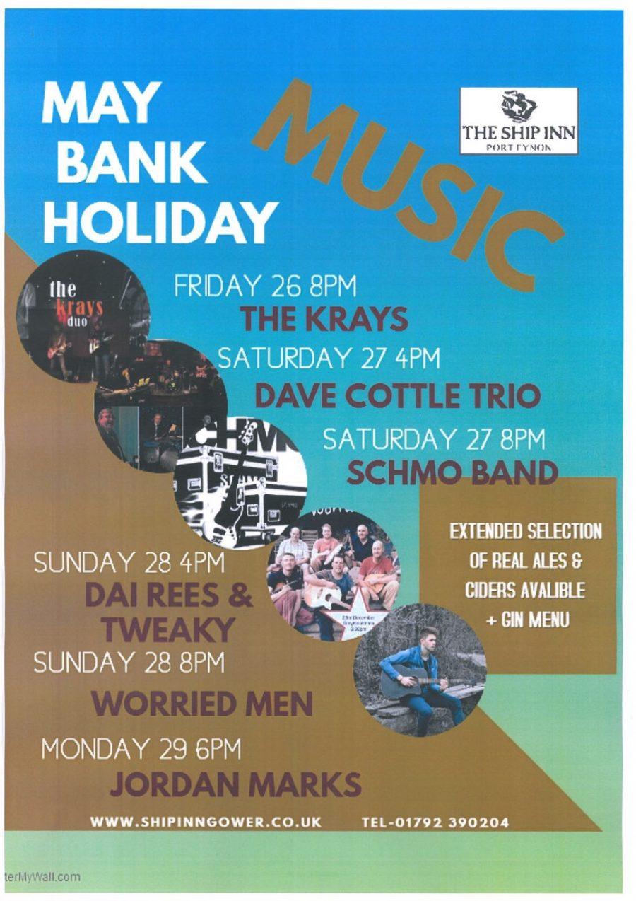Bank Holiday Bonanza 26-29th May 2017